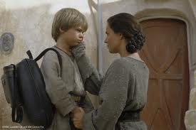 Image result for anakin leaving his mother