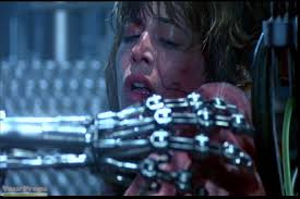 Sarah Connor terminator arm