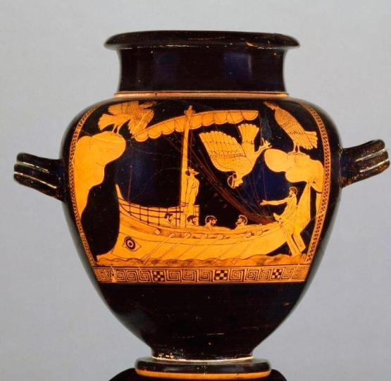 Siren vase