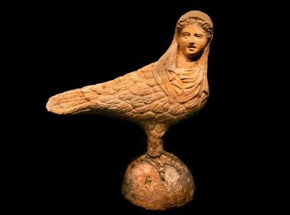 Terracotta siren 300 BC