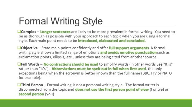 Formal+Writing+Style